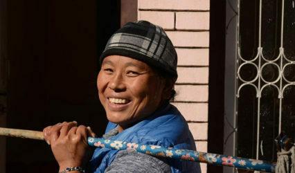 Seguimos con la casa para Chungku y su familia